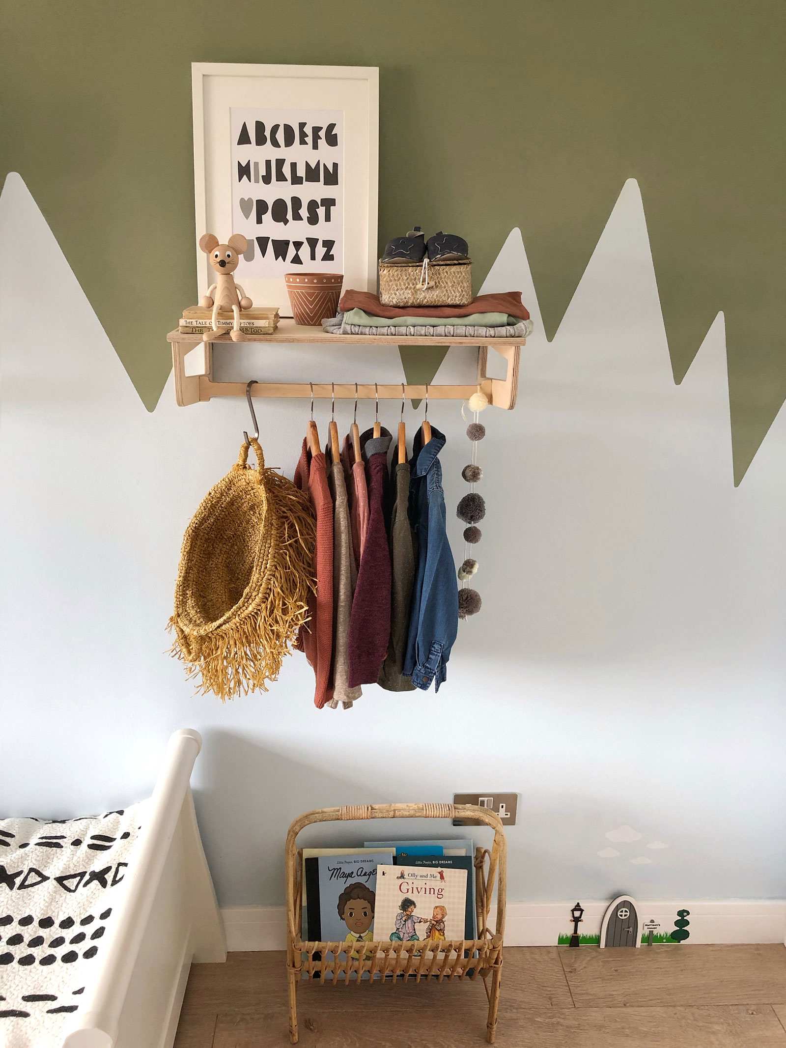 boho style kids storage ideas