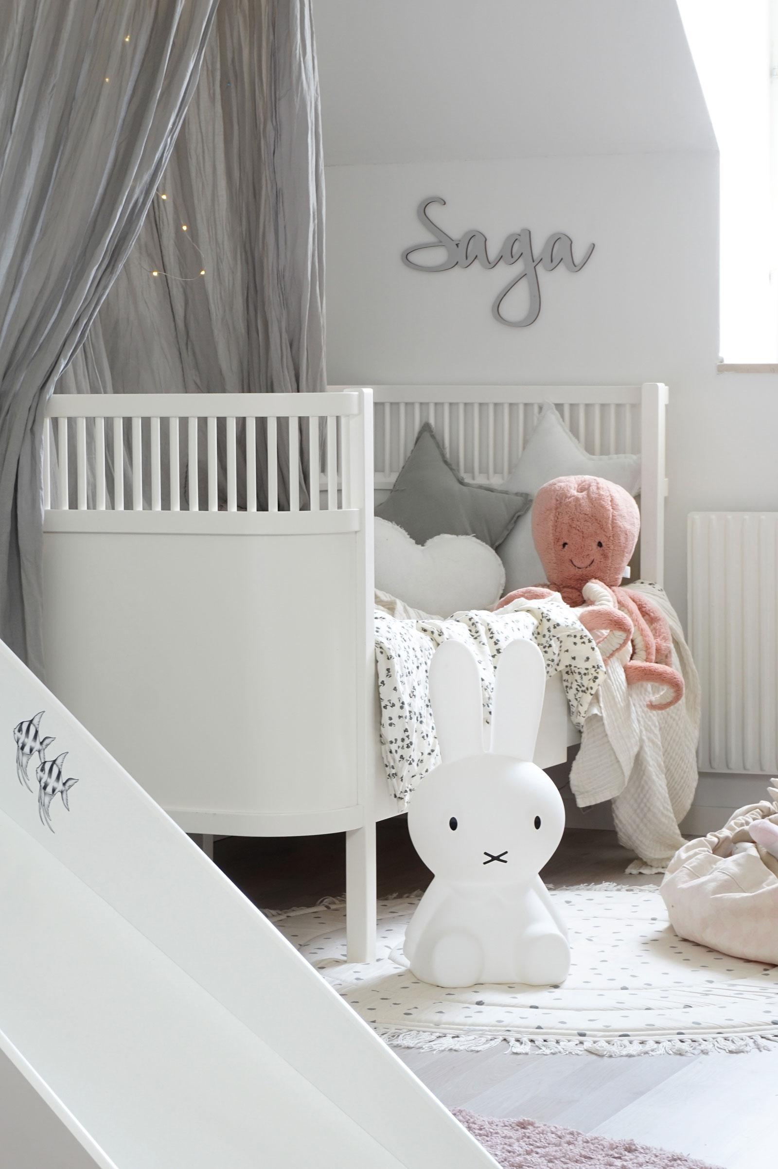 sebra cot white