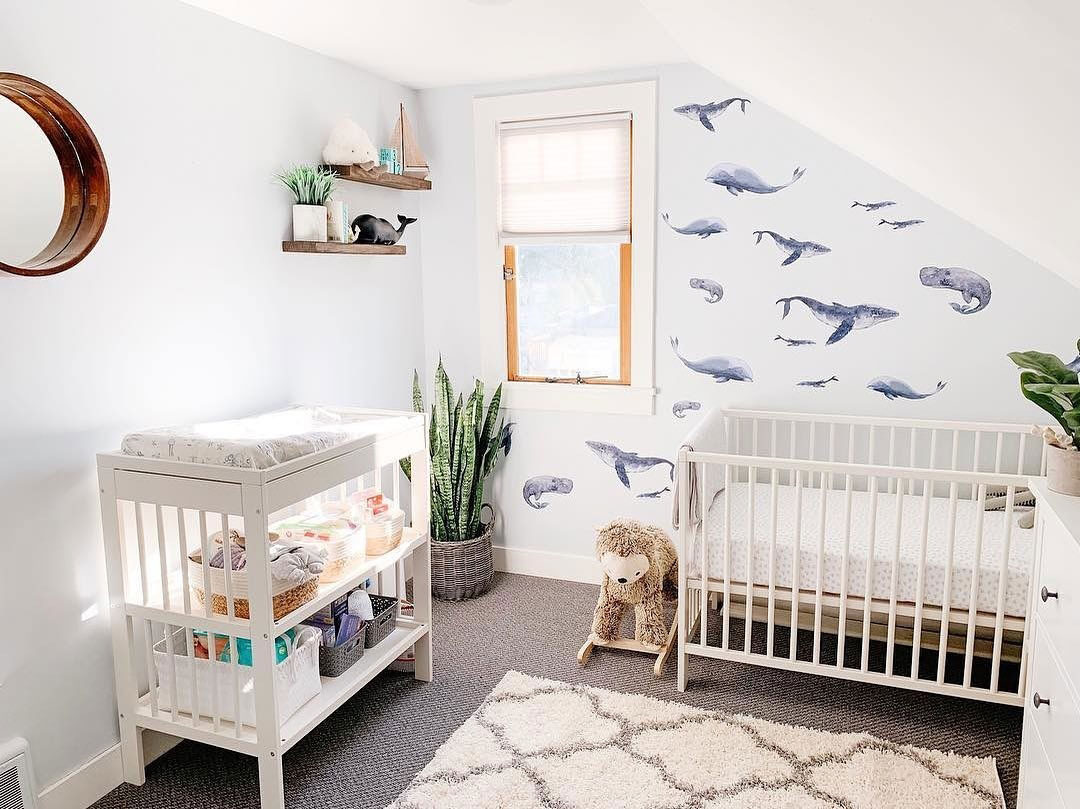 sea theme in baby nursery