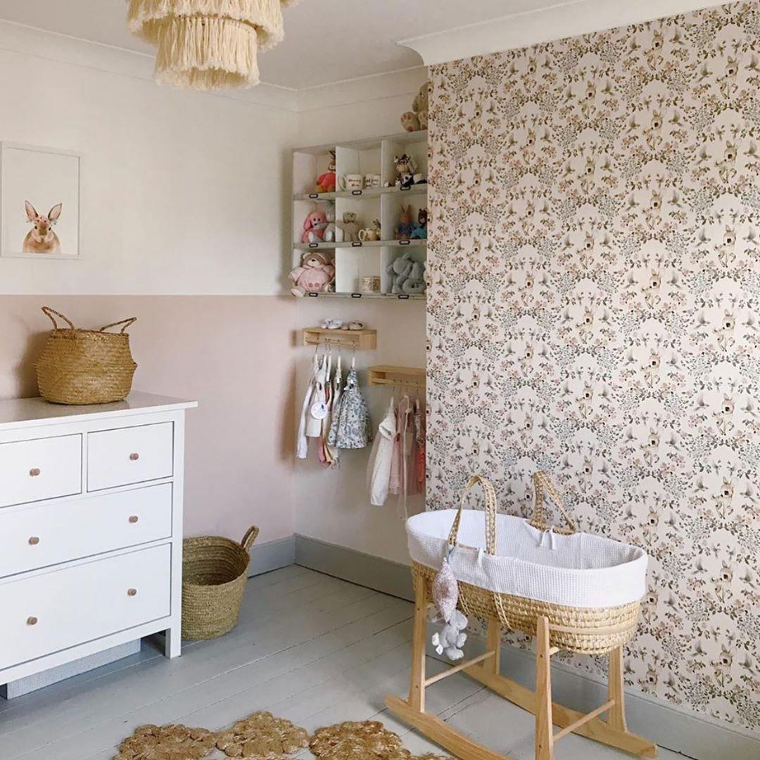 wallpaper ideas baby nursery