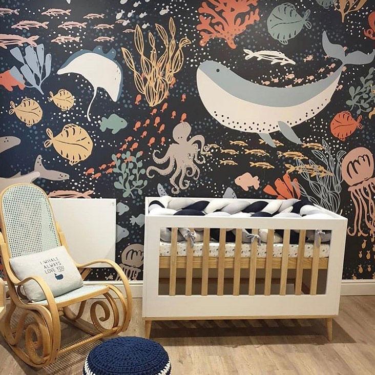 whale seaworld kids wallpaper