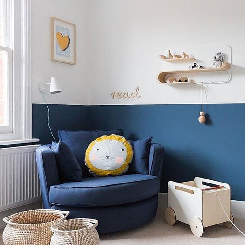 classic blue pantone childrens rooms