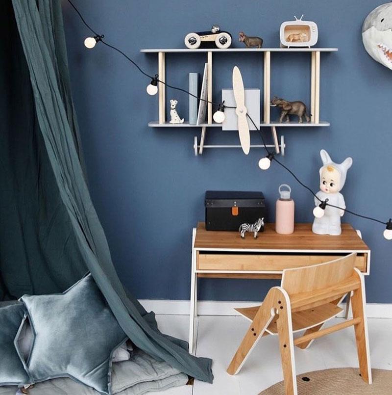 pantone classic blue kids' rooms