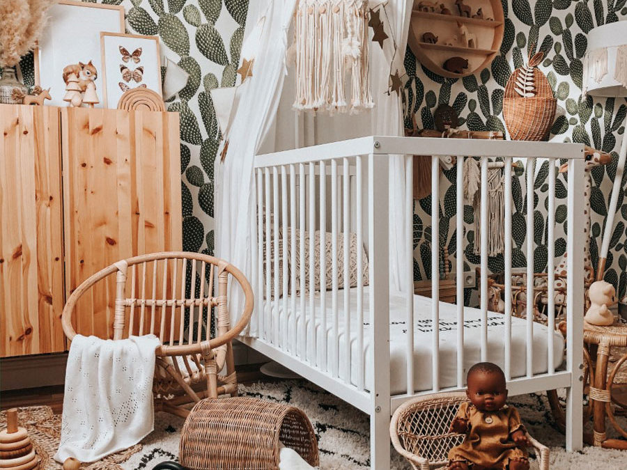 ROOMTOUR : FRIEDA'S NATURAL NURSERY WITH A BOHO FEEL