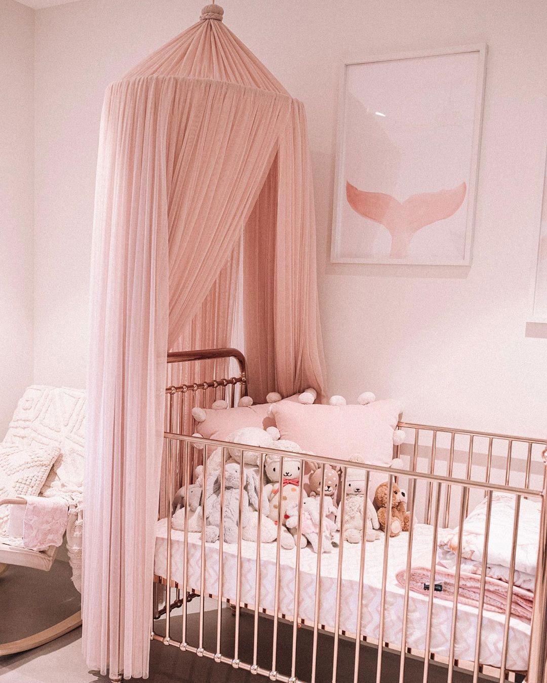 pink baby nursery gender specific
