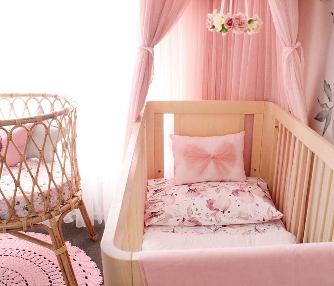 baby pink nursery
