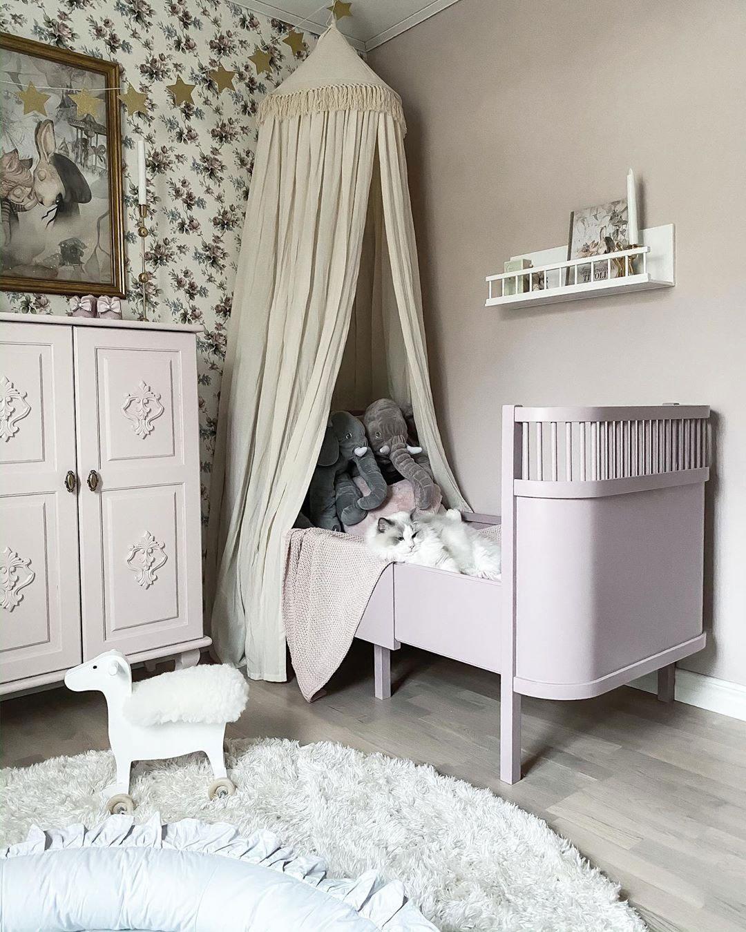 grey scandinavian children's room