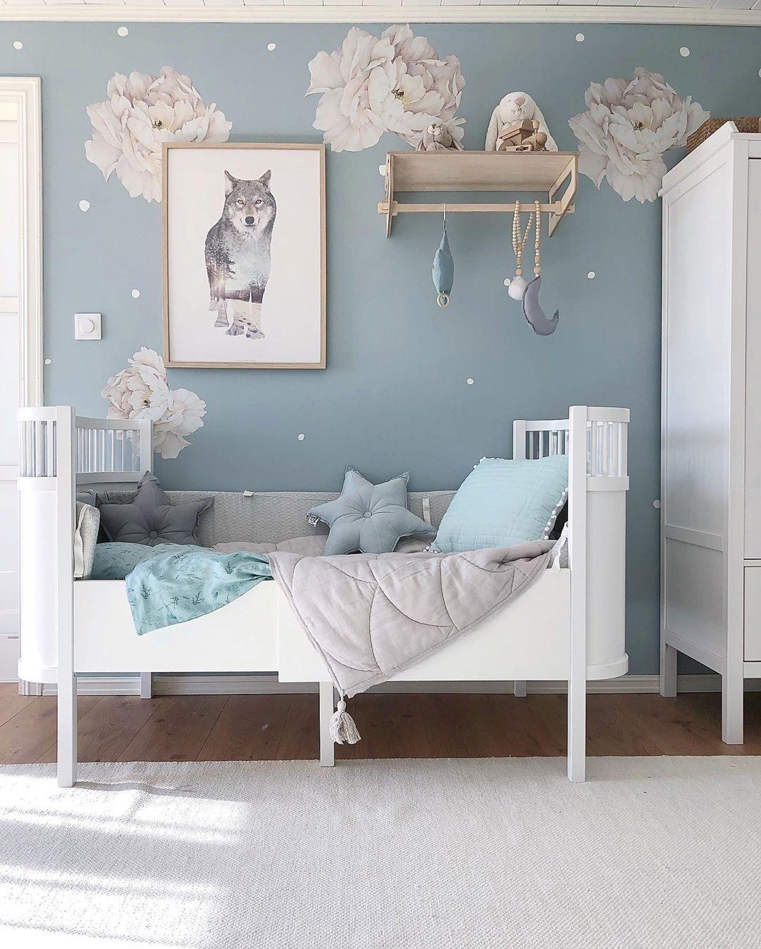 blue gender specific colour boy's room