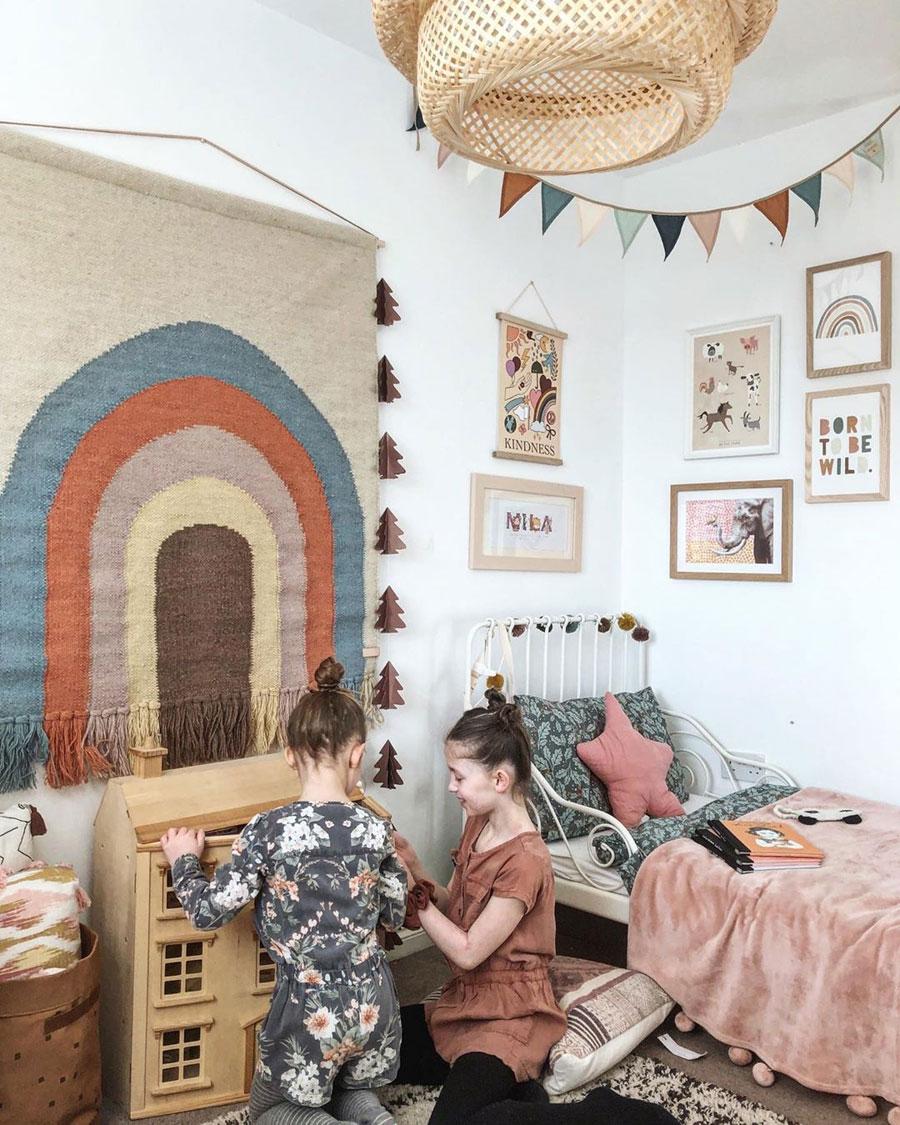 earthy girl's room