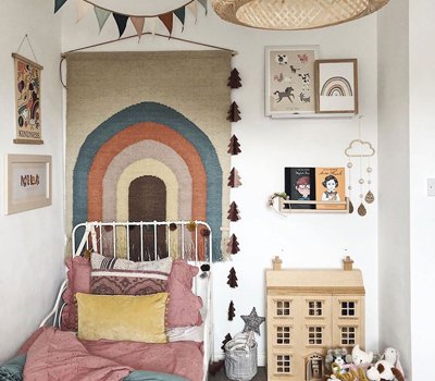 MILA'S NORDIC INSPIRED ROOM WITH POPS OF FUN