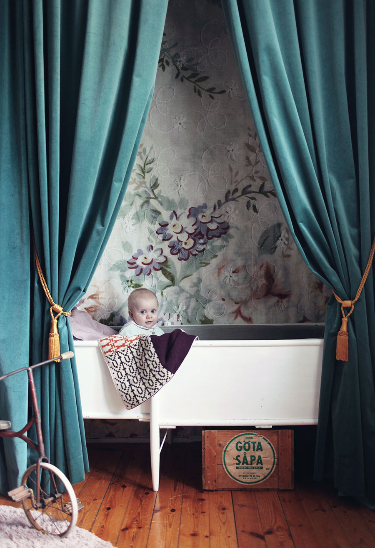 velvet in nursery