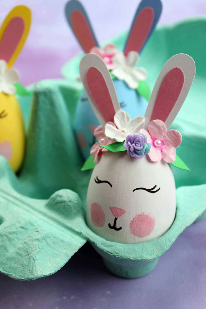 cute painted easter eggs
