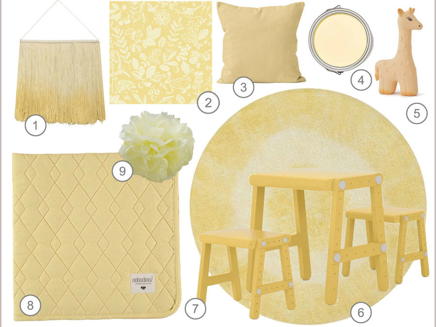 SHOPPING BY THEME: SOFT YELLOWS