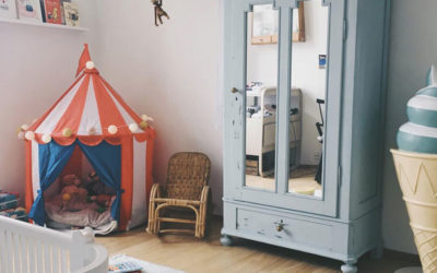 HOW TO PULL OFF A CIRCUS THEMED KID'S ROOM WITH STYLE