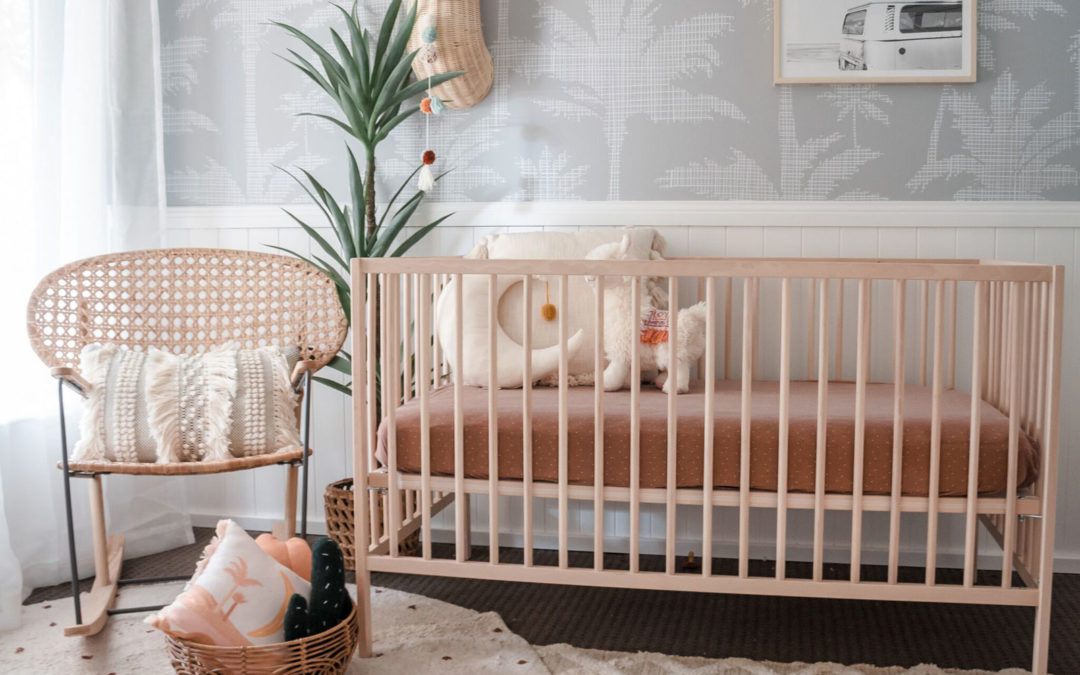 ROOMTOUR: ARCHIE'S NATURAL NURSERY WITH BREEZY PALMS