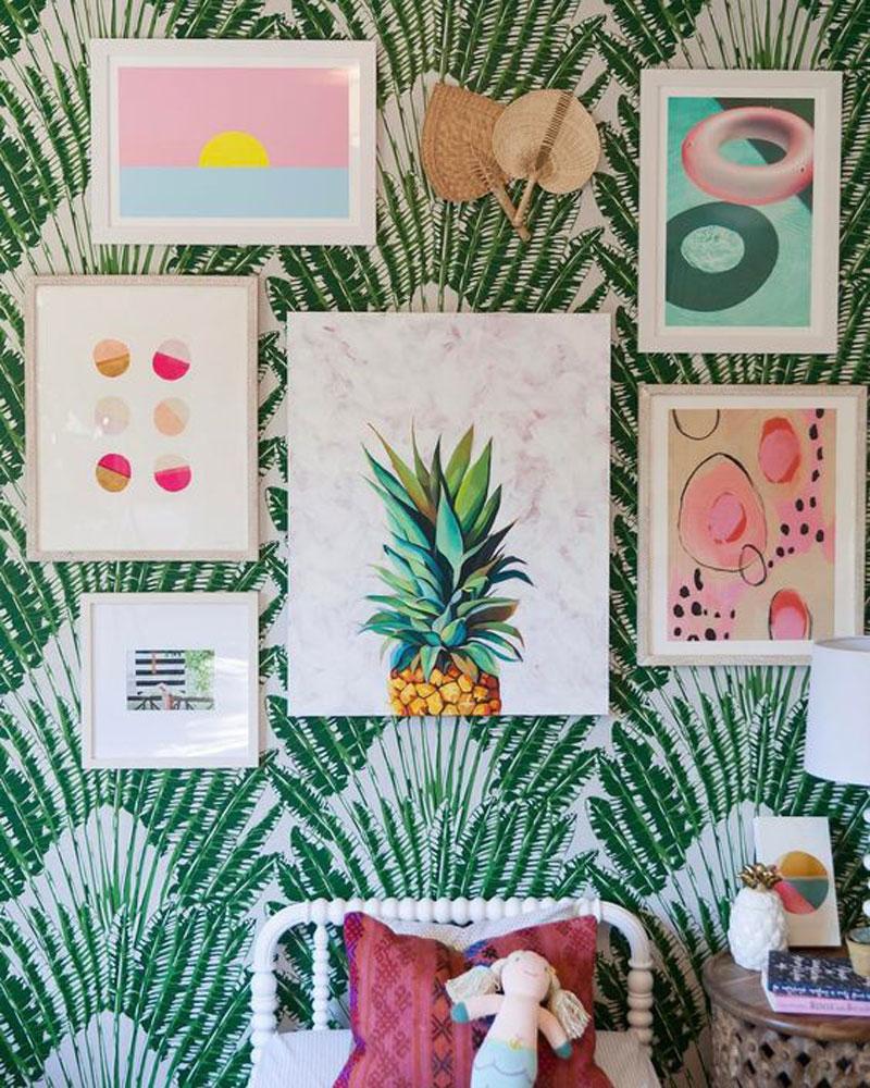 tropical wall decor