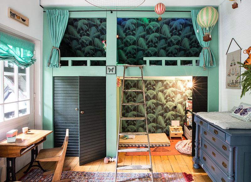 tropical kid's room