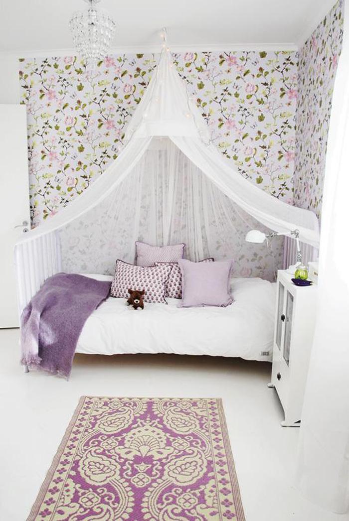 psychology colour purple kids' rooms