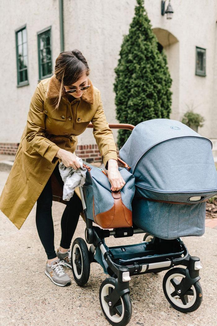 fashionable baby pram