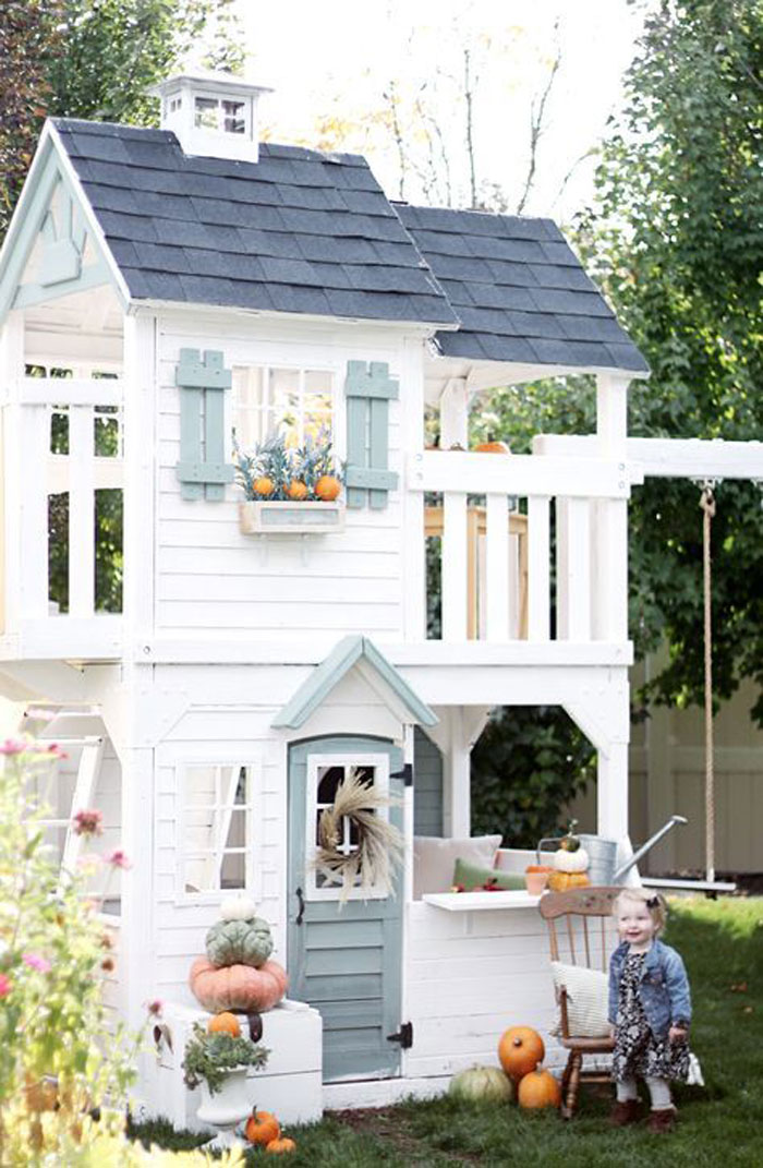 two storey playhouse