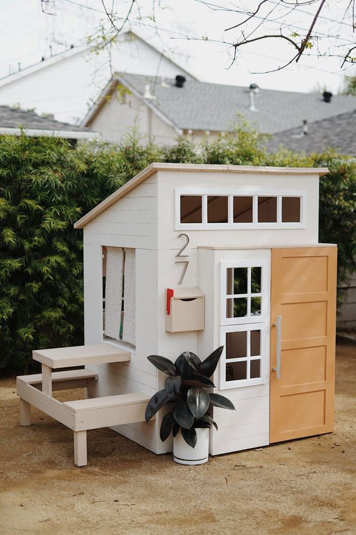 easy to build playhouse