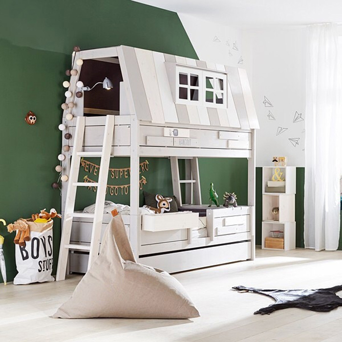 psychology green in kid's room
