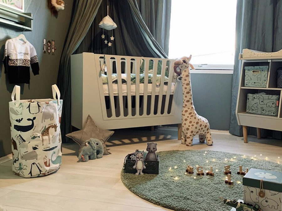 ROOMTOUR: GILLI'S FUN NURSERY WITH A JUNGLE THEME