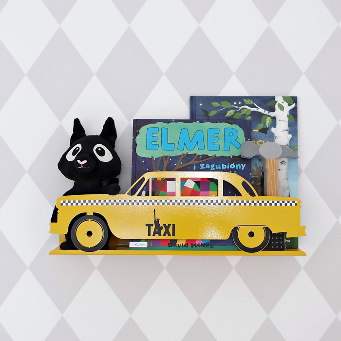 new york yellow taxi toy