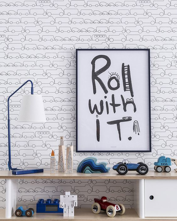 roll with it poster