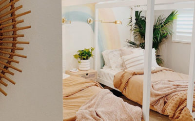 SUMMER PASTELS FOR KIDS BEDROOMS