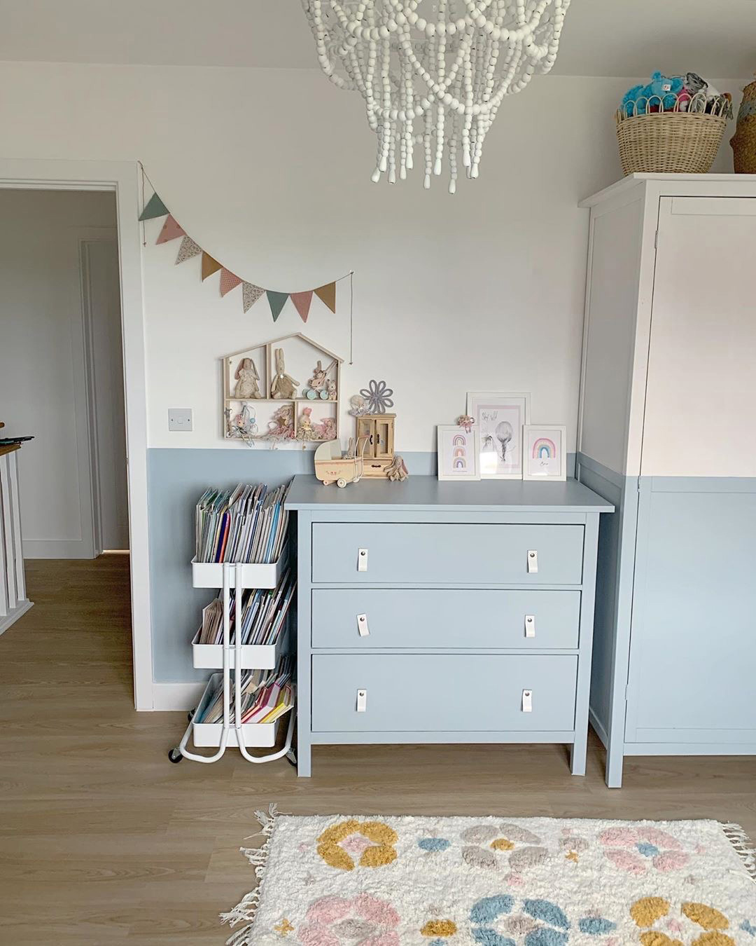 blue pastel for boys rooms