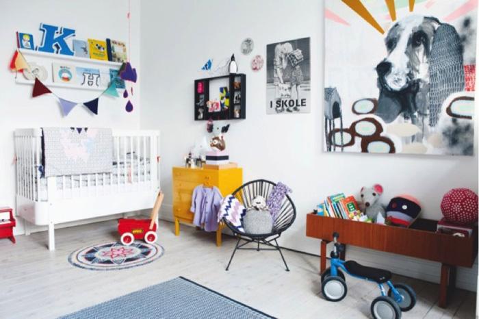 dog wall art kid's room