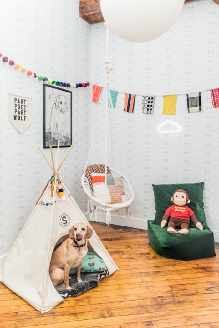 teepee for a dog