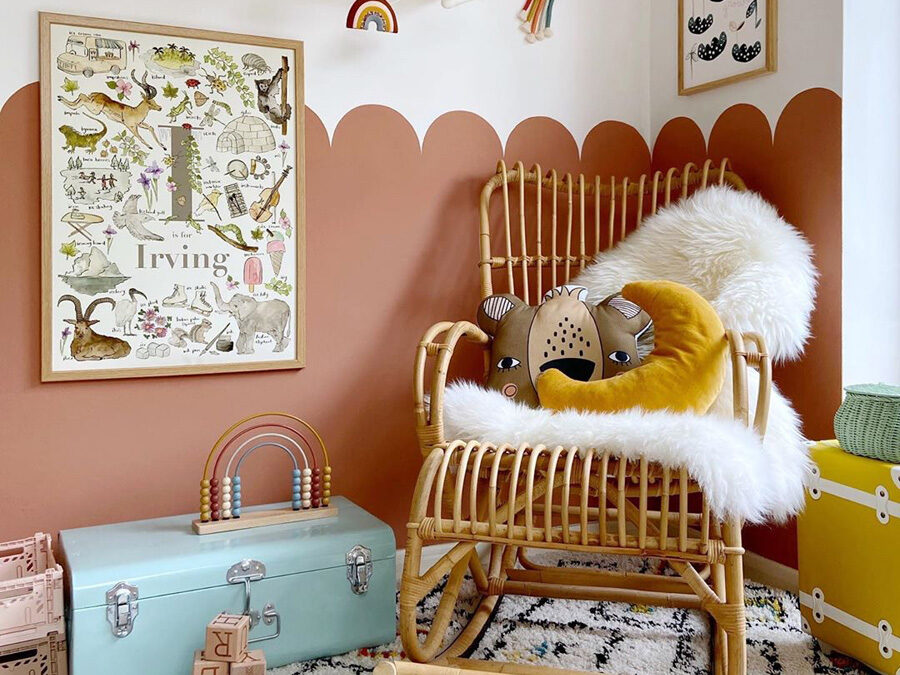 THE COLOUR TERRACOTTA IN NURSERIES AND KIDS' ROOMS