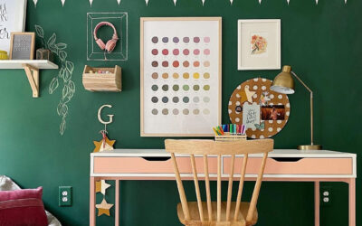 BACK TO SCHOOL : TOP IDEAS FOR KIDS' STUDY AREAS