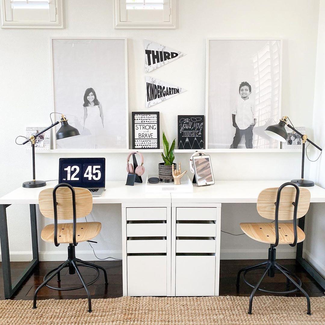 desks for shared kids' room