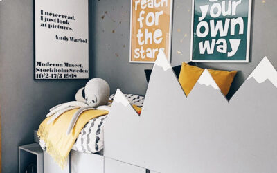 CREATIVE DIY IDEAS FOR KIDS' BEDROOMS