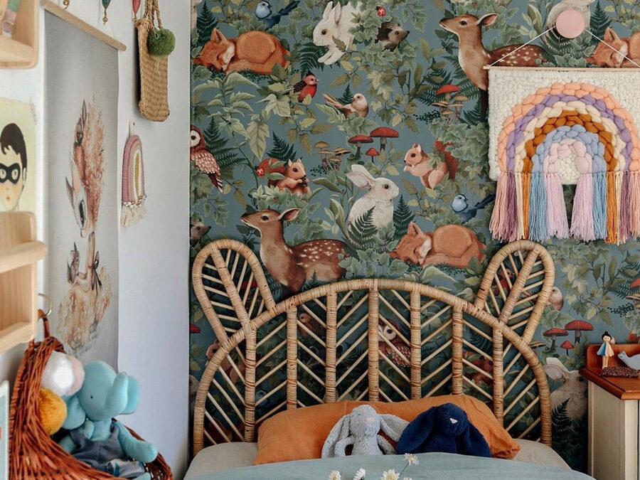 WONDERFUL KIDS' ROOMS WITH WOODLAND DECOR