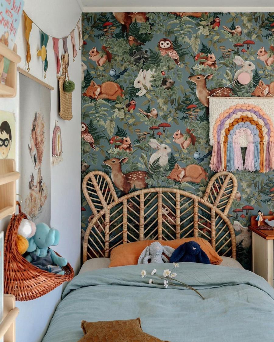 Wonderful Kids Rooms With Woodland Decor Kids Interiors