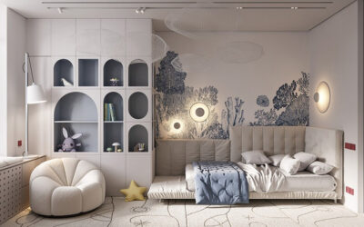 CONTEMPORARY KIDS' ROOMS BY INTERIOR DESIGNERS