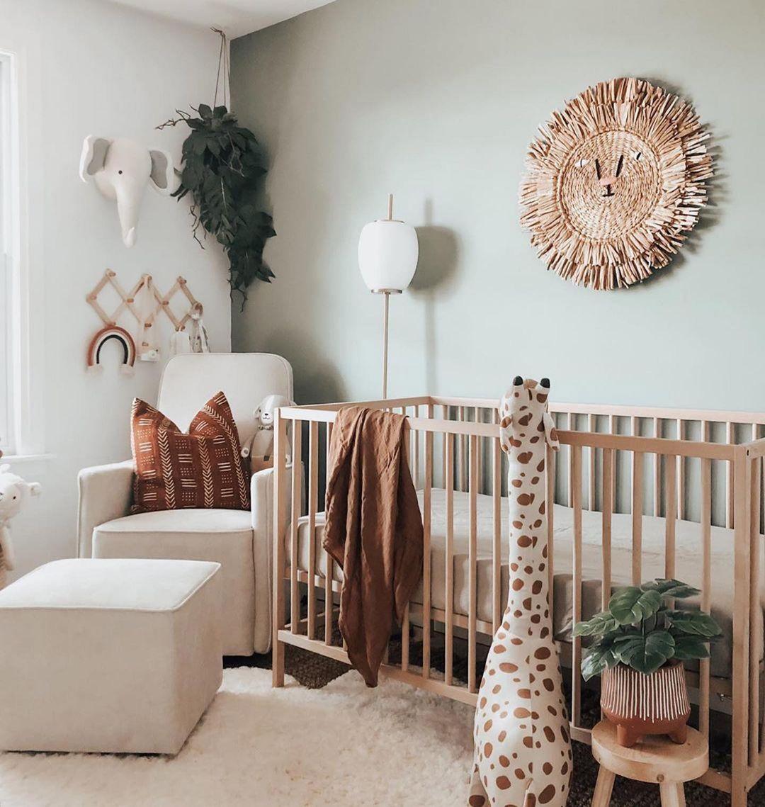 safari style baby nursery