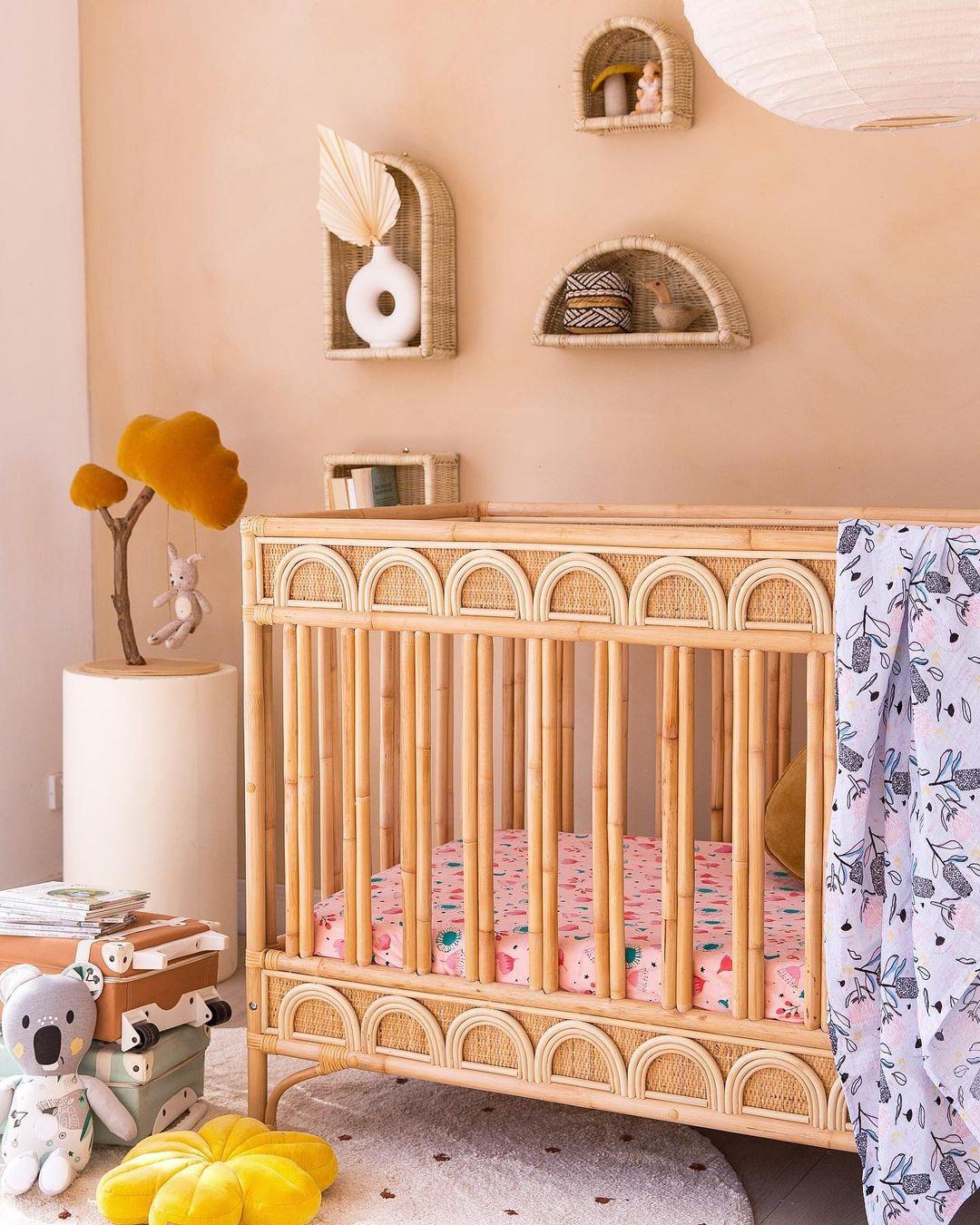 original cot for girl nursery