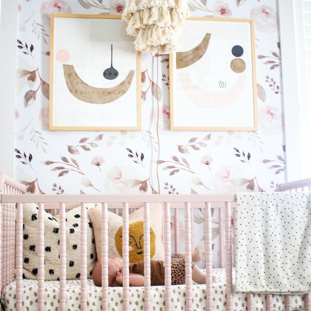 cushions girl nursery