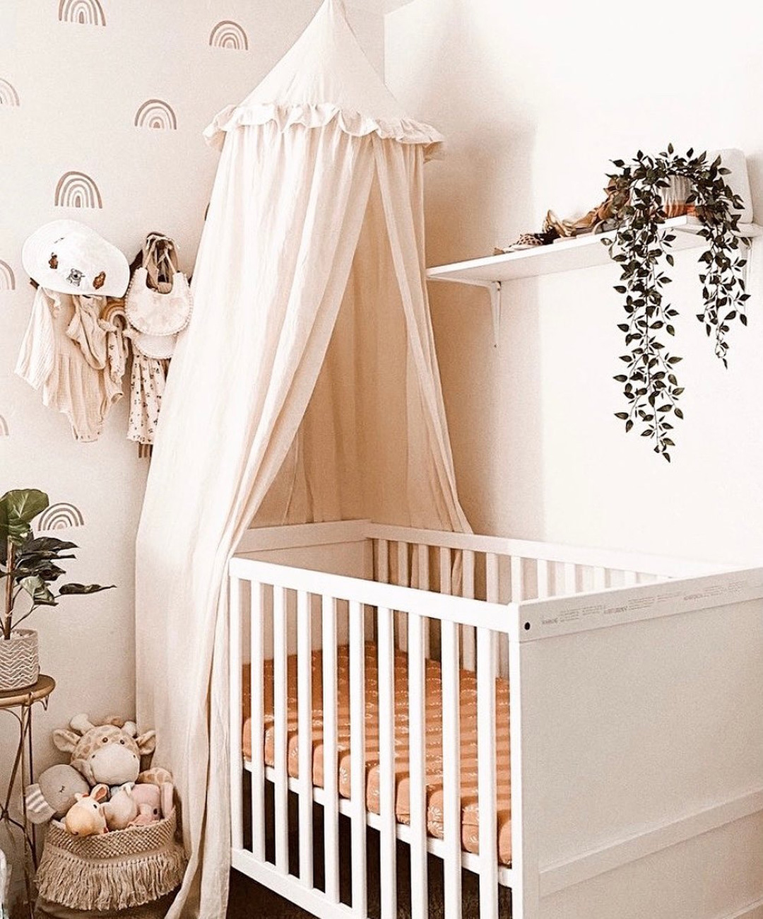 nude canopy for nursery