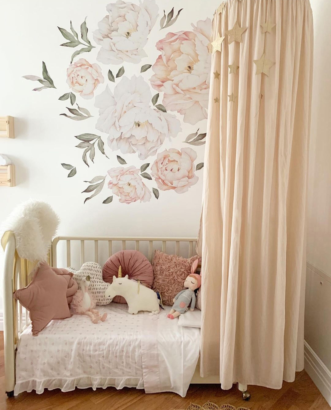 nude colour baby nursery