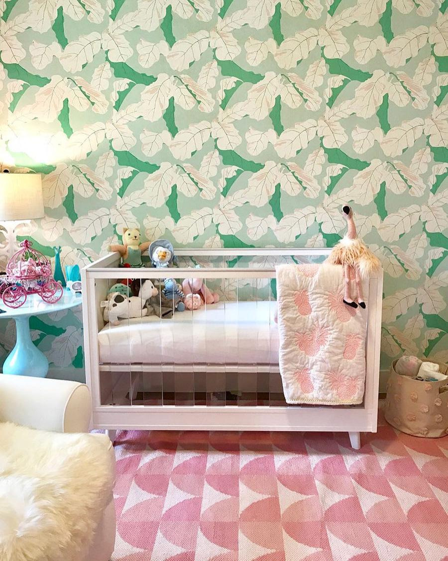 florida style baby nursery