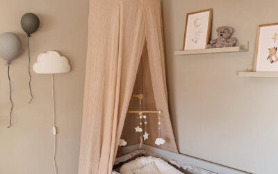 NUDE TONES IN GIRLS' ROOMS AND NURSERIES