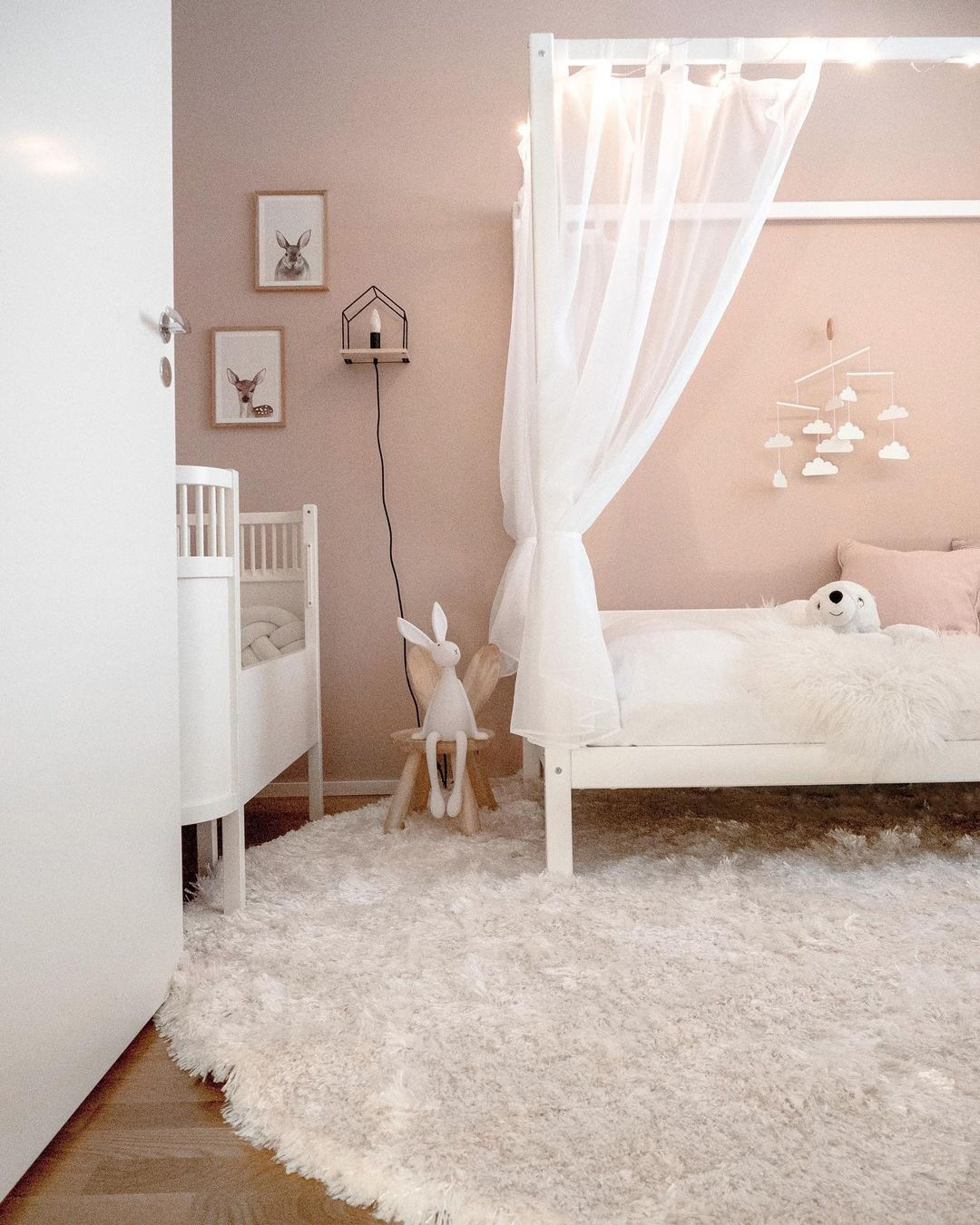 nude pink for a girl's room