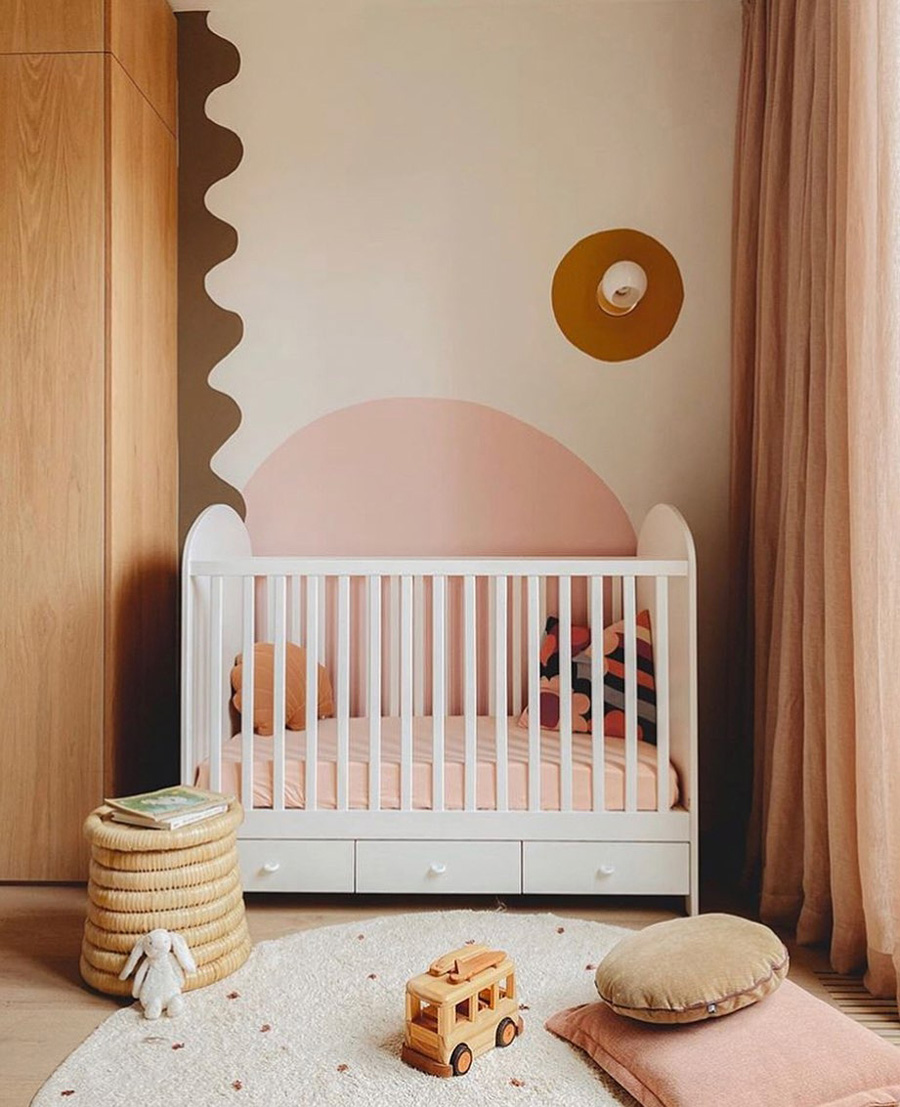 original contemporary baby nursery