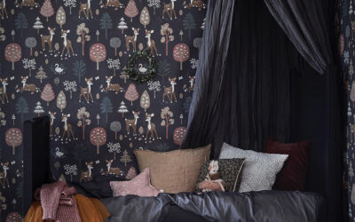 DARK AND MOODY KIDS' ROOMS FULL OF CHARM